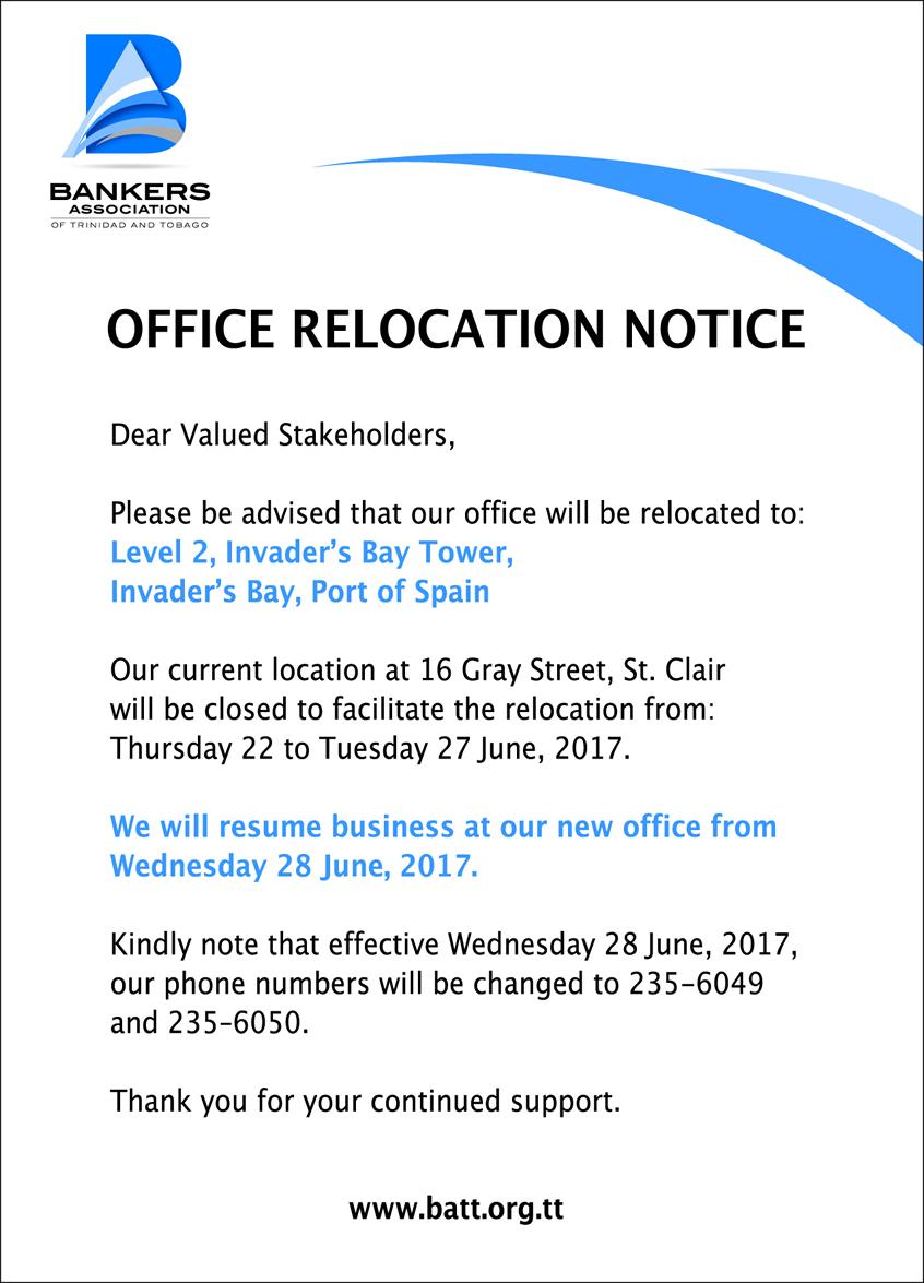BATT-relocation Office Moving Letter Template on